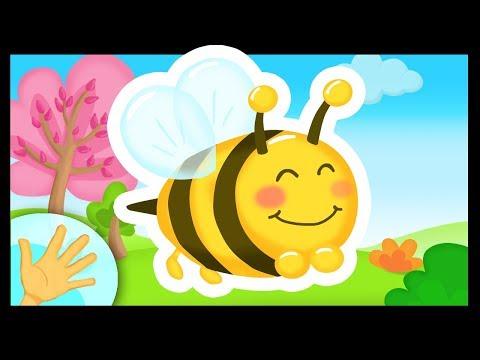 La comptinette des abeilles - Petites comptines à gestes pour bébés - Titounis