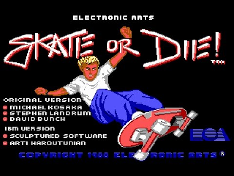 Skate or Die (PC/DOS) 1988, Electronic Arts