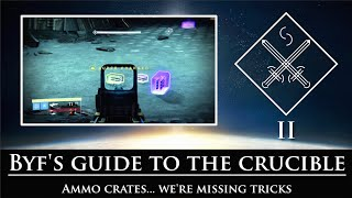 Destiny - Byf's guide to the crucible - Episode 2 - Ammo and resources