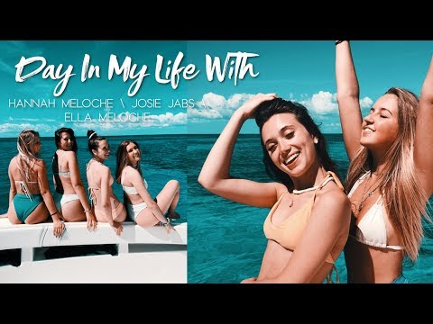 Day In My Life With Hannah Meloche & Josie Jabs & Ella Meloche // GOOD VIBE TRIBE