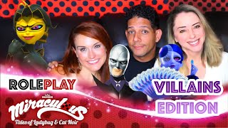 Miraculous Ladybug Role-play! VILLAINS Edition Movie | Valory Pierce