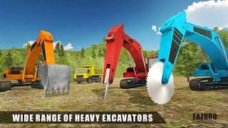 Excavator Crane Operator Rock Mining Machine//Road Construction(Part-1)Android Gameplay screenshot 4