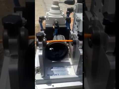 Saudi Arabia Riyadh Cable Blowing Machine!