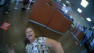VIDEO Woman arrested for refusing to wear face mask at Galveston bank