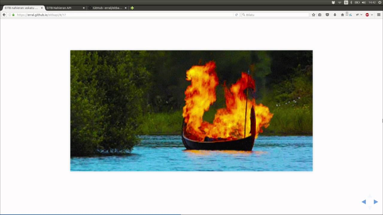 Image from EITB Nahieran: askatu bideoak API honen bidez
