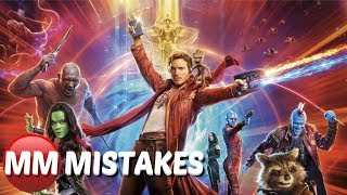 Guardians of the Galaxy 2 Movie Mistakes You Missed | The Guardians of the Galaxy Vol. 2 Movie