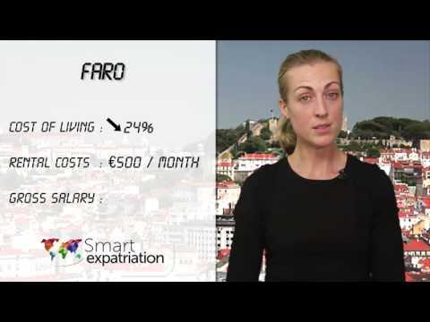 Faro - Cost of Living, Rental Costs & Gross Salary