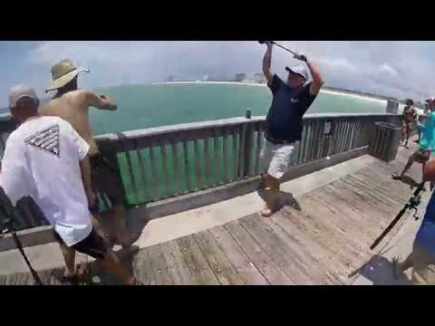 Pensacola Beach Pier Tarpon and Kings