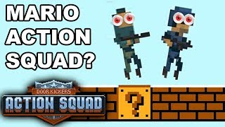 TACTICAL MARIO SQUAD! STEAM WORKSHOP MAPS! – Door Kickers: Action Squad (Steam Release Co-op)