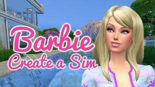 The Sims 4 Cas — Barbie Doll