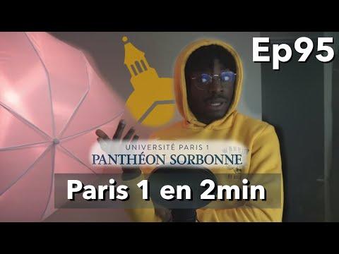 La Vie D'étudiant à Paris 1 Panthéon Sorbonne En 2min