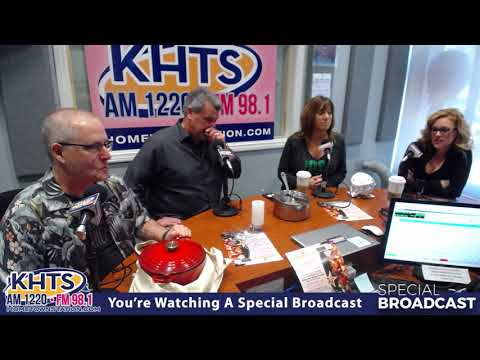 Scott Irvin, Nicole, Amanda, Jeff Scot From the Chili Cook Off - Feb 26 ,2018 - KHTS - Santa Clarita