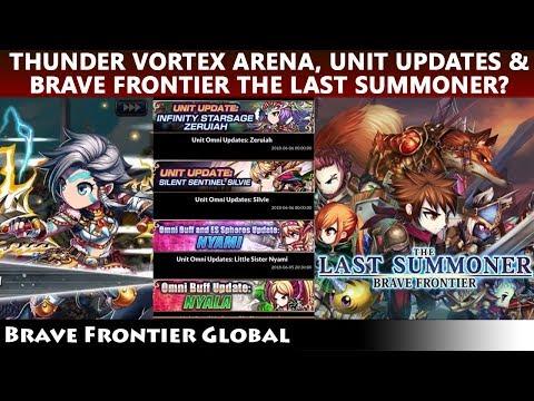 Big News? Brave Frontier The Last Summoner, Thunder Vortex Arena & Zeruiah Silvie Nyami Nyala Update