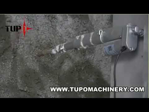 TUPO 8 E-Control Plus 1000  Automatic Rendering Machine working in Dubai