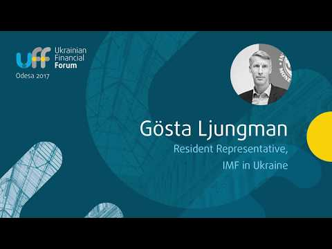 Ukrainian Financial Forum 2017 - Goesta Ljungman, IMF -  Ukraine's positioning in the global economy