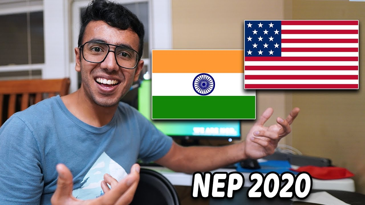 Is New INDIAN Education System AMERICANIZED? Education Policy 2020!! India vs USA