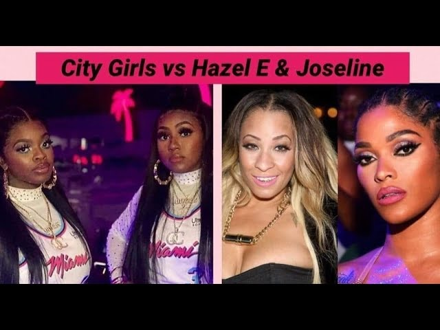 Why HazeL E is Beefin w. City Girls, Drops a Diss Song