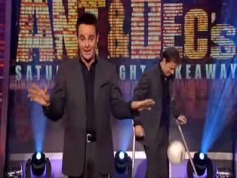 Dec's 'Hurt' Leg...Ant and Dec's Saturday Night Takeaway