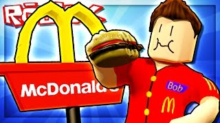 LIFE AT MCDONALDS IN ROBLOX!
