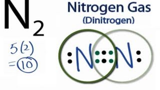 N2 Lewis Structure: How to Draw the Lewis Structure for N2 (Nitrogen Gas)