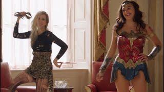 How Gal Gadot & Kristen Wiig Became Fast Friends Shooting Wonder Woman 1984 | WW84