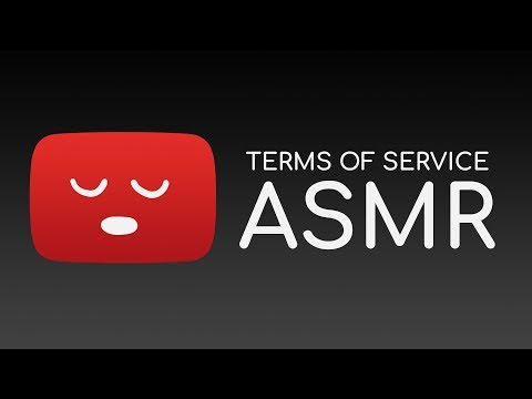 [ASMR] Binaural Reading: The YouTube Terms of Service