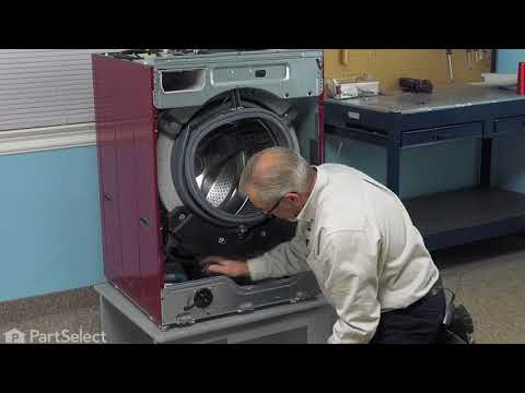 Lg Washer Repair How To Replace The Tub To Pump Hose Lg Part 4738er1002a Youtube