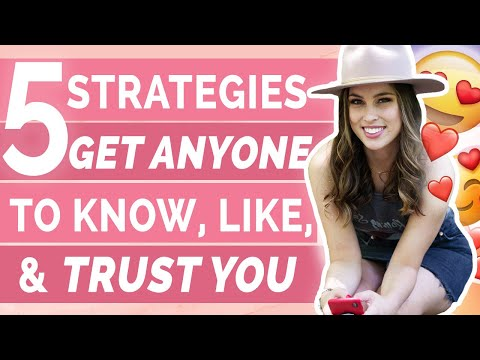 How To Get Anyone To Know, Like, And Trust You On Social Media