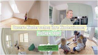 Haus Tour mit den Kindern | Live Reaktion & Unsere Küche | Folge 39 | Isabeau