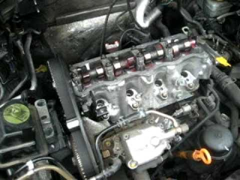VW TDI Timing Belt with no Tools + Helpful Hints - YouTube