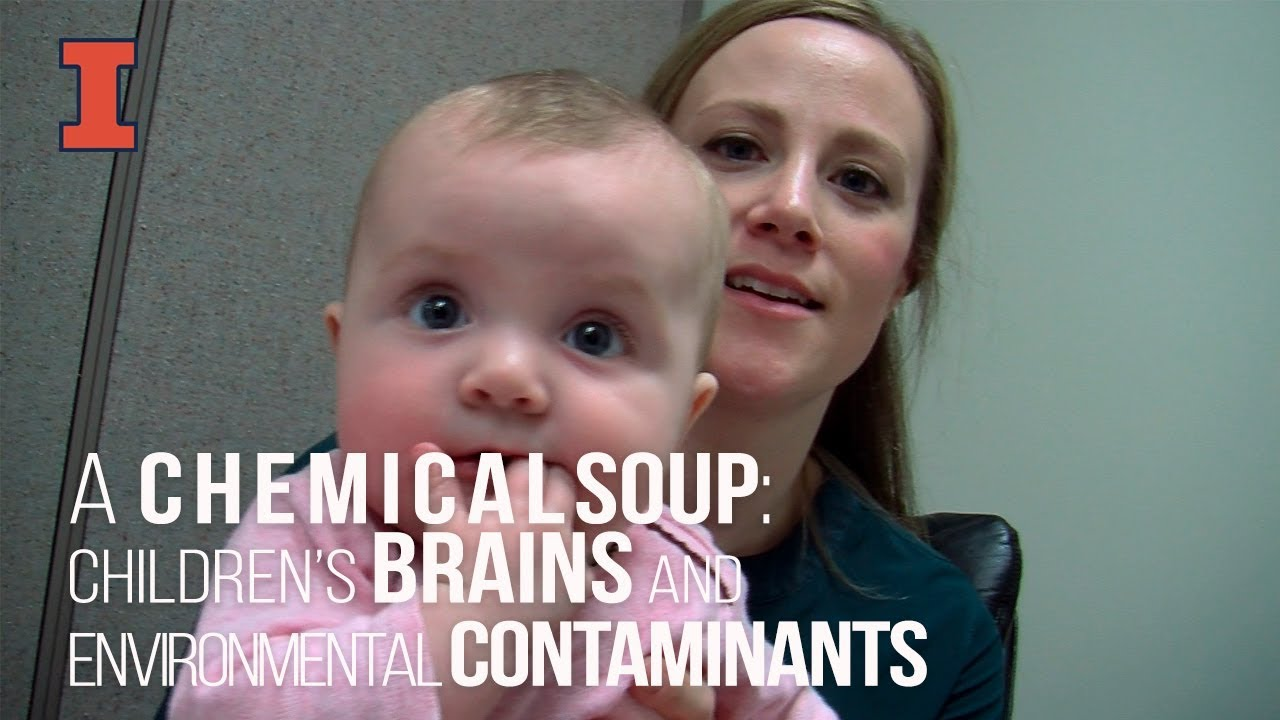 A screenshot from A Chemical Soup: Children's Brains and Environmental Contaminants