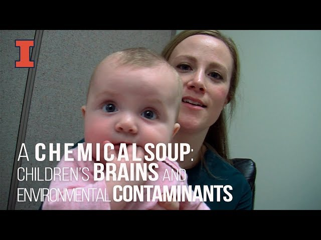 A screenshot from A Chemical Soup: How Environmental Contaminants Can Affect Children's Brains