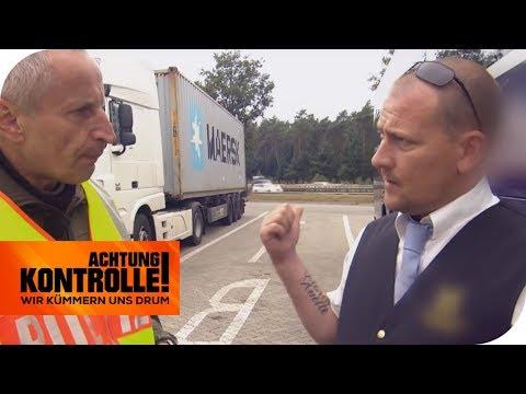 Fahrzeitüberschreitung & kein Fahrtenbuch: Wie hoch ist die Strafe? | Achtung Kontrolle | kabel eins