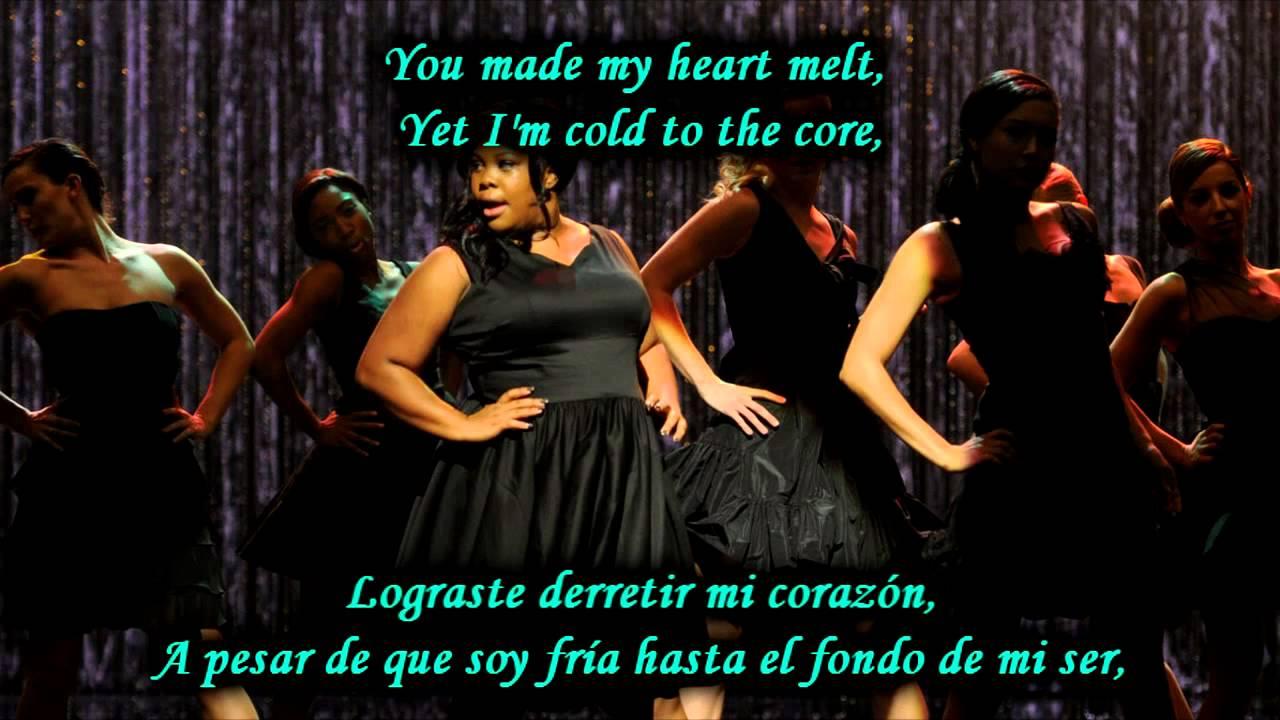 Glee Rumour Has It Someone Like You Sub Spanish With Lyrics Youtube