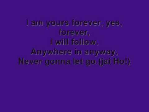 The Pussycat Dolls- Jai Ho Lyrics (HD sound quality)