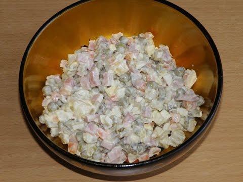 салат оливье пошаговые фото