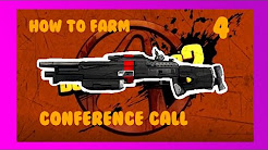 HOW TO FARM THE CONFERENCE CALL | OP8/LVL 72/Any Level | Borderlands 2 Farming Guide #4