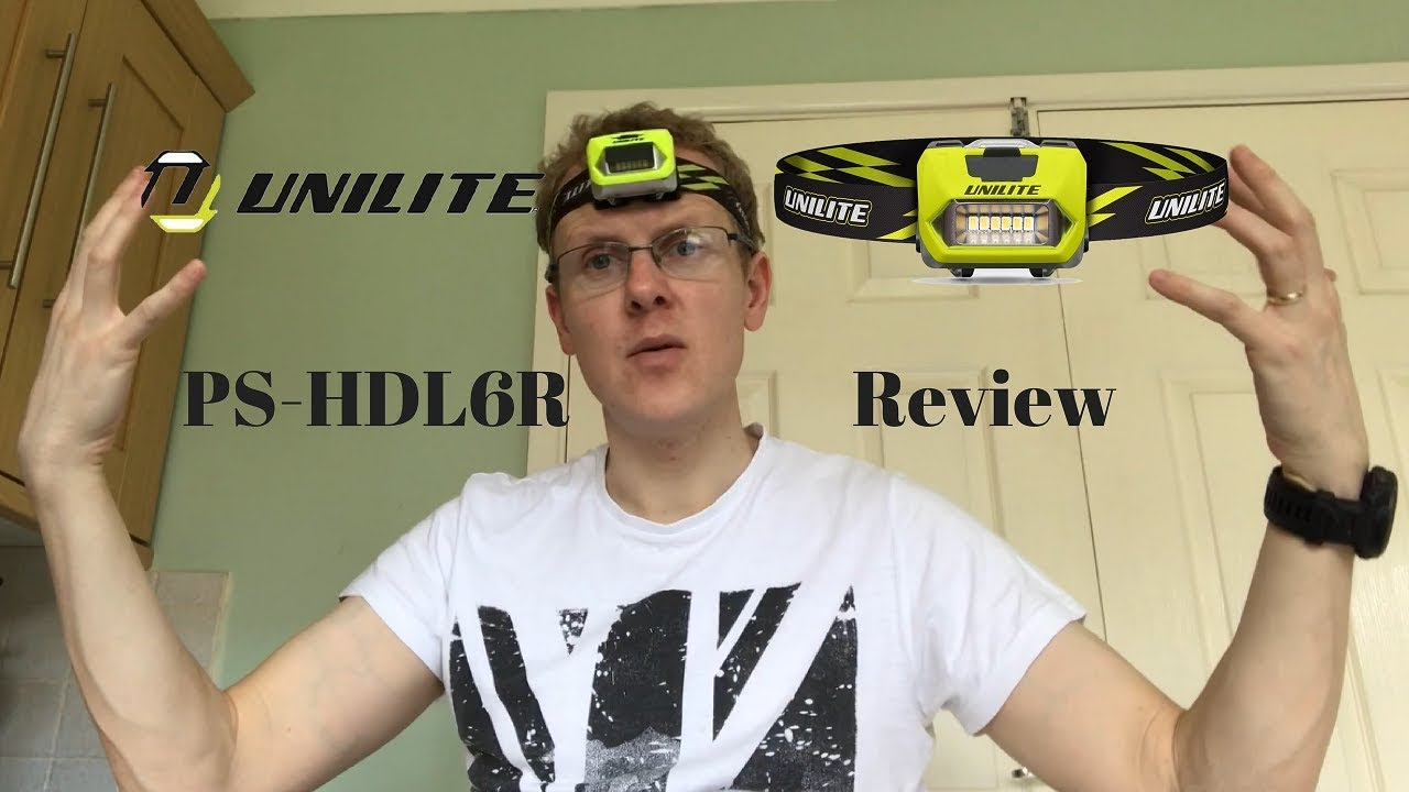 Unilite PS - HDL6R Head Torch Unboxing and Review - YouTube
