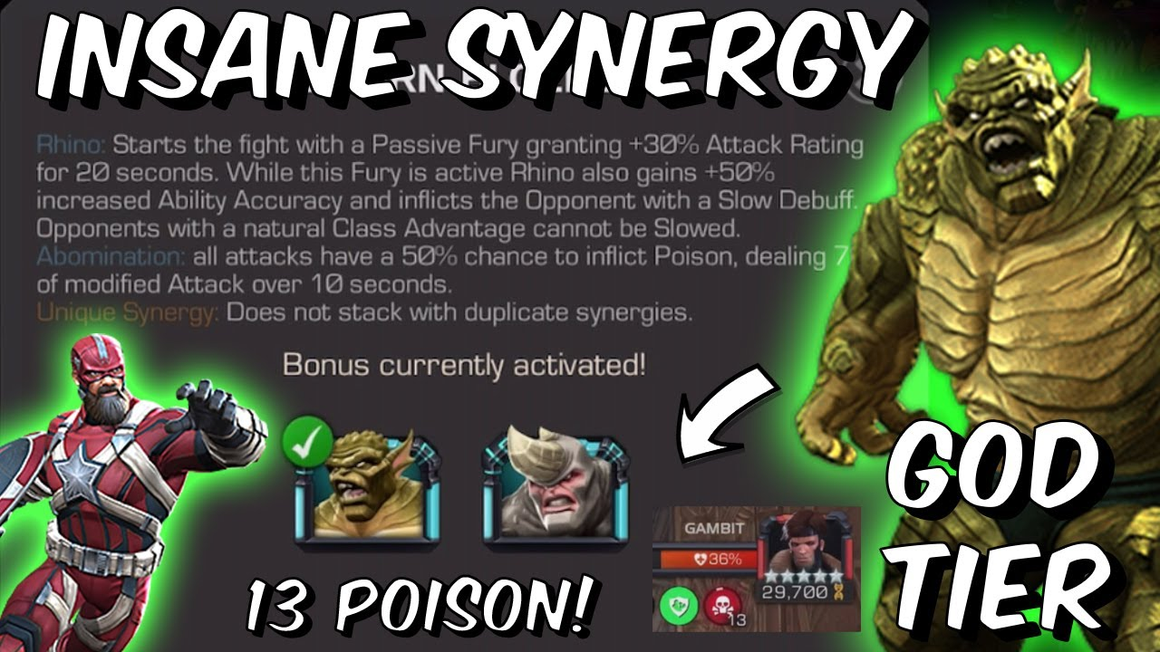 This INSANE Synergy Makes ABOMINATION GOD TIER?! - BEYOND IMPRESSED - Marvel Contest of Champions