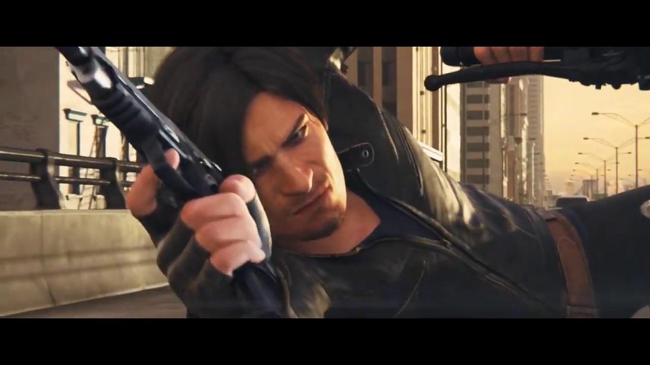 Motorcycle Scene Leon Resident Evil Vendetta Youtube