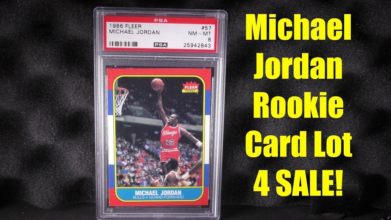 1986 Fleer Michael Jordan Rookie 57 And Rookie Sticker
