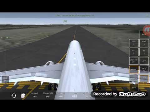 Infinite Flight live from WMKJ TO WIDD