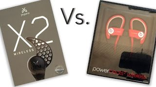 JayBird X2 Headphones OR PowerBeats 2 Wireless Headphones, Which should you choose?