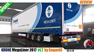 "[""Euro Truck Simulator 2"", ""mods"", ""modifications"", ""????"", ""???????????"", ""trailer mod"", ""Krone MegaLiner 2017"", ""by Sogard3""]"