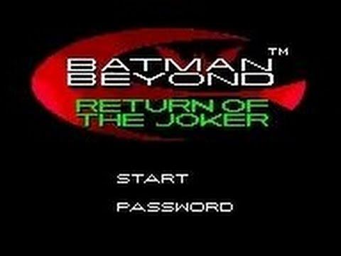 Batman Beyond Return Of The Joker Game Boy Color Youtube