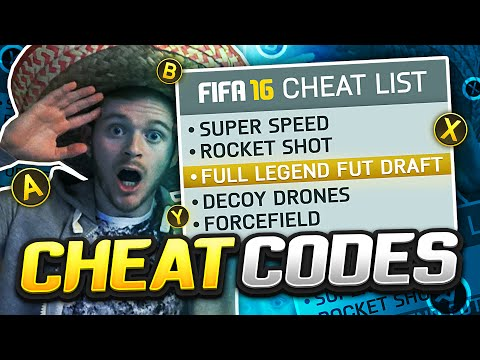 FIFA 16 CHEAT CODES