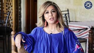 لقاء موسوعة المشاهير السوريين مع الفنانة التشكيلية السورية رنا لطفي