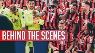 Team Photo | We Get The Camera Out As Afc Bournemouth's Team Photo Takes Place