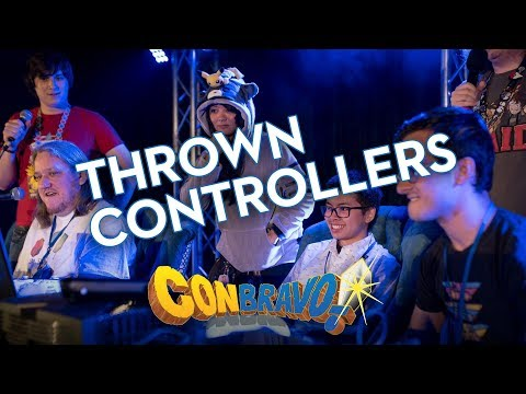 ConBravo! Live - Thrown Controllers