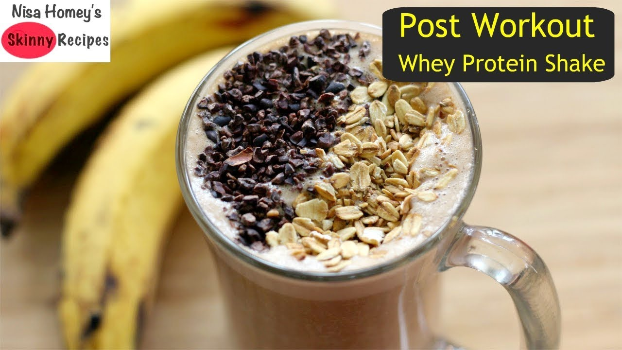 Post Workout Whey Protein Shake Whey Protein Isolate Drink Oats